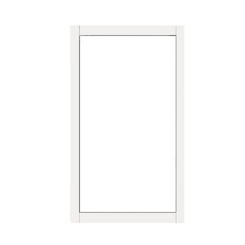 Ikkuna Kiinteä Pidennetty Kesä Valkoinen