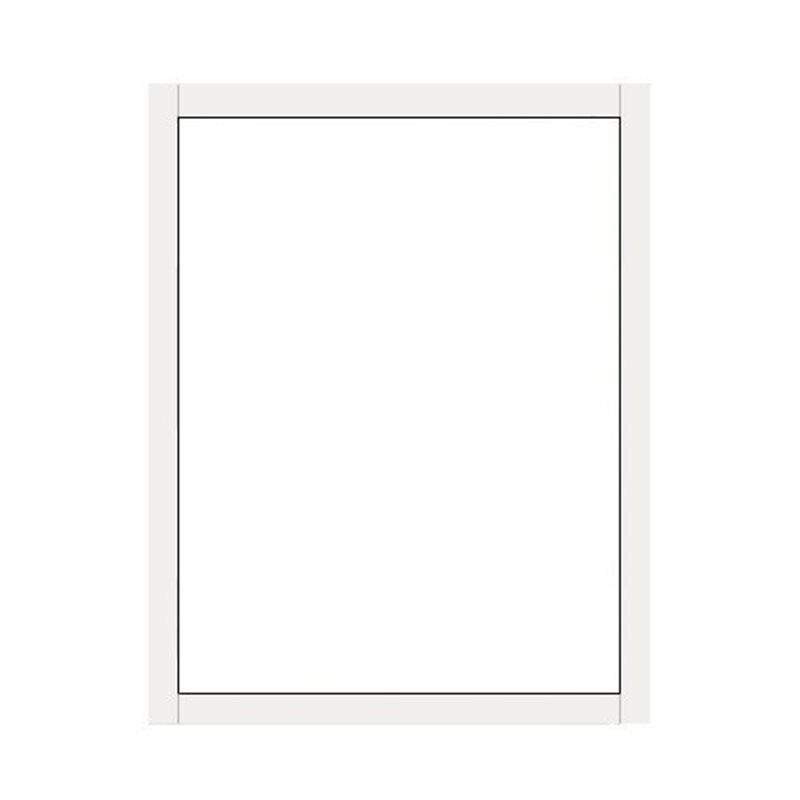 Terassin Ikkuna Kiinteä Kesä Valkoinen