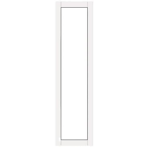 Terassin Ikkuna Kiinteä Kevät-Syksy Valkoinen